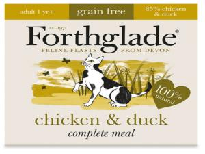 Chicken & Duck Natural Cat Food