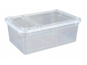Assortment BraPlast Boxes, transparent