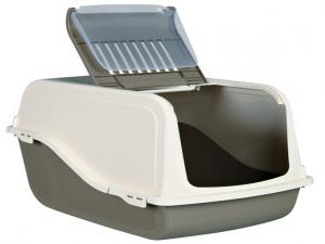 TRIXE Dano Open Top Litter Tray, with Dome