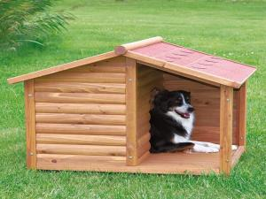 TRIXIE natura Dog Kennel with Terrace